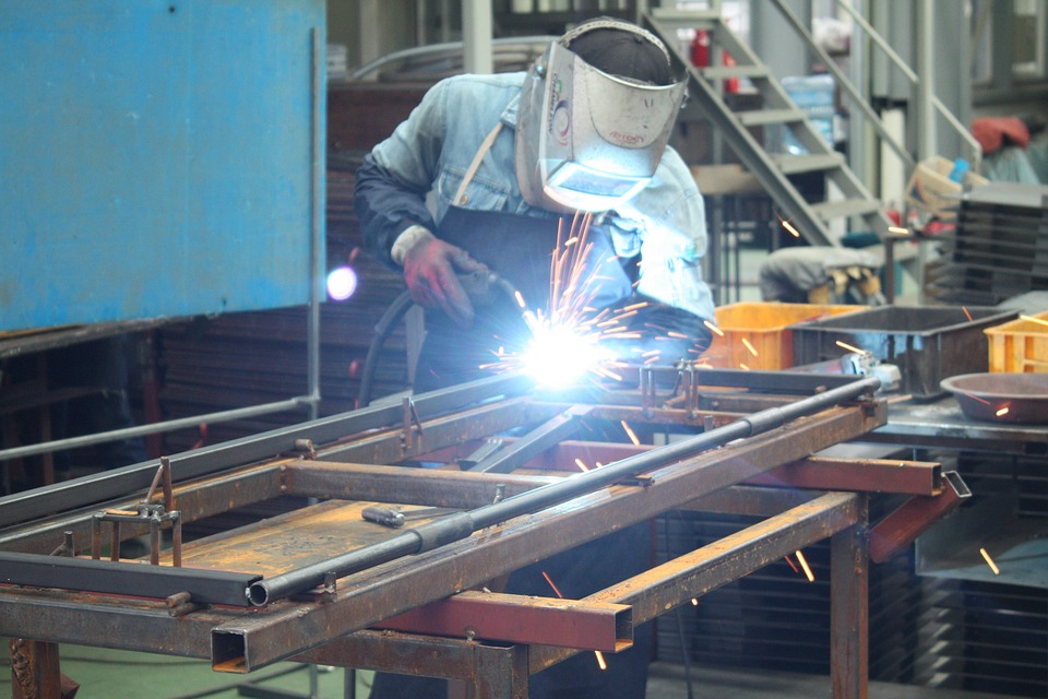 Industrial Arc Welding Applications