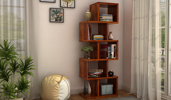 Make your Books a Permanent roommate of a Stylish Bookshelf Design