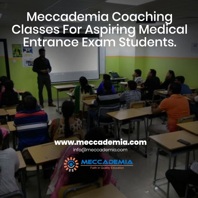 Meccademia Coaching Classes For Aspiring Medical Entrance Exam Students.