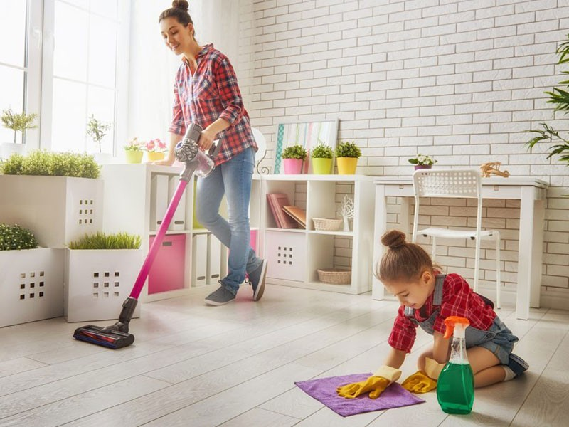 5 Tips to Keeping a Clean House All The Time