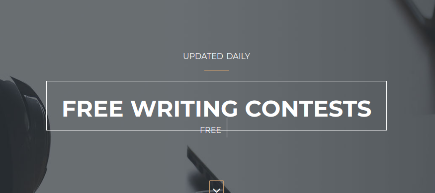 Enter as many writing contests as possible to sharpen your writing skills