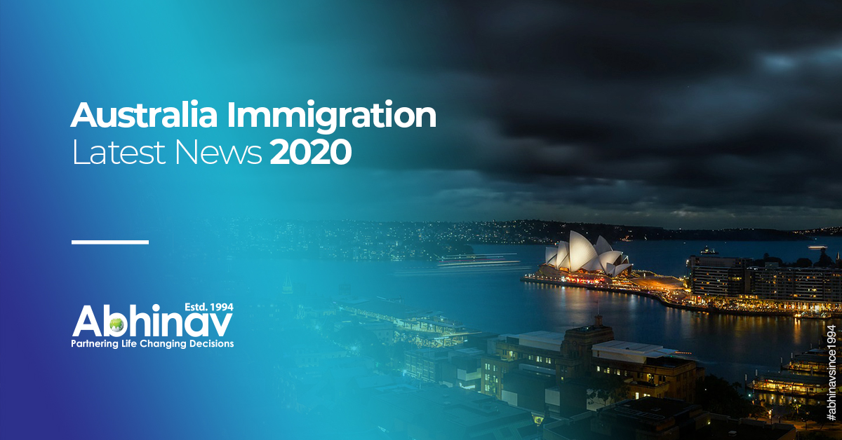 Australia Immigration Latest News Comes with Possible Changes to be Noticed in 2020