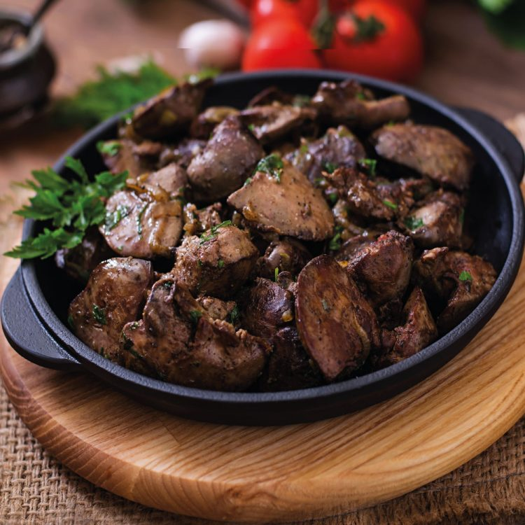 How to cook chicken livers
