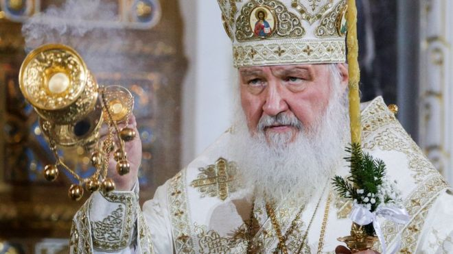 Smartphone users warned to be careful of the Antichrist - the leader of the Russian Orthodox Church has warned