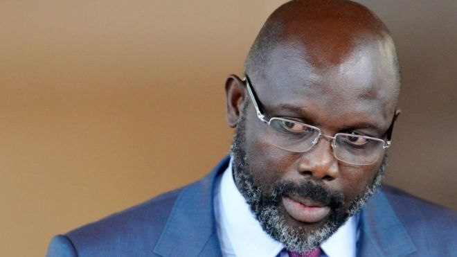 Snakes force Liberian President George Weah out of office