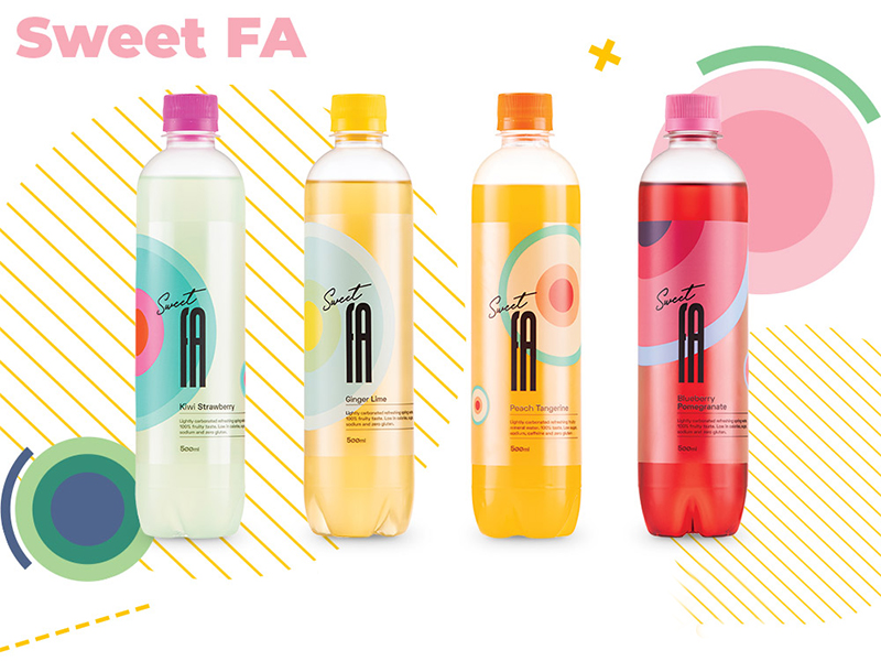 Sweet FA - Lightly Carbonated Fruit Flavored Mineral Water